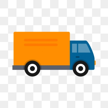 Truck Vector, Free Download Delivery truck, Trucks, Food.