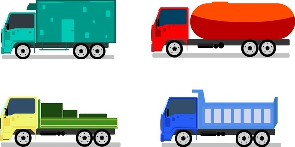 Truck vector free vector download (534 Free vector) for.