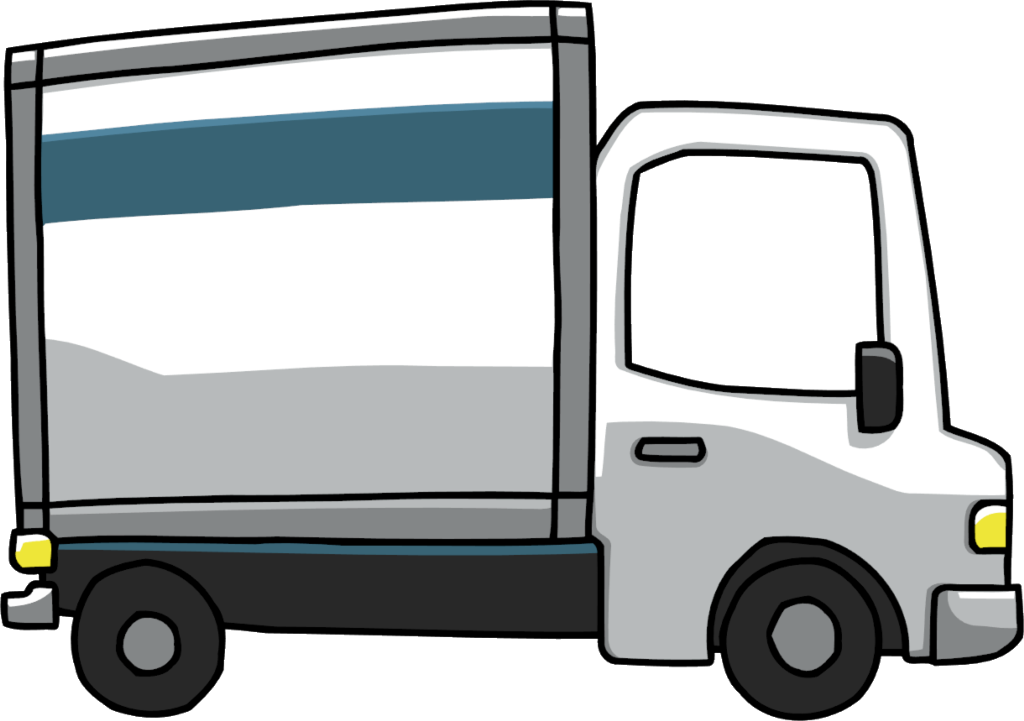 Mover Pickup truck Van Car Clip art.