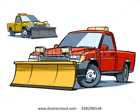 Snow Plow Stock Images, Royalty.