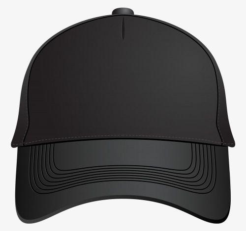 Black Cap Front, Clipart, Black, Caps PNG Transparent.