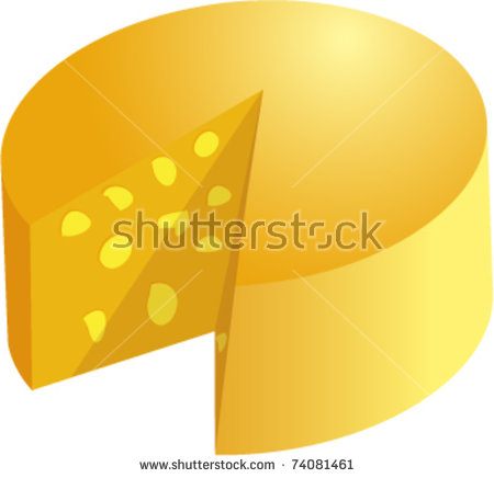 Swiss Cheese Wedge Stock Photos, Royalty.