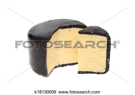Stock Photograph of Truckle of cheddar cheese k18130009.