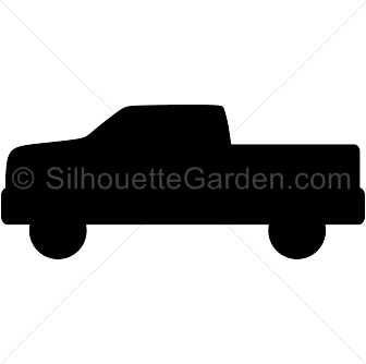 Pickup truck silhouette clip art. Download free versions of the.