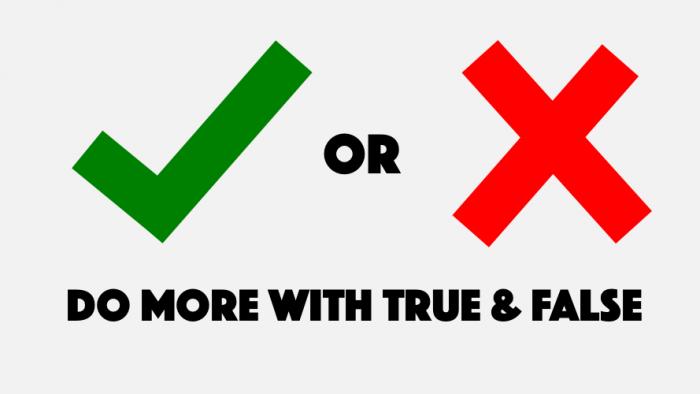 True False Png Vector, Clipart, PSD.