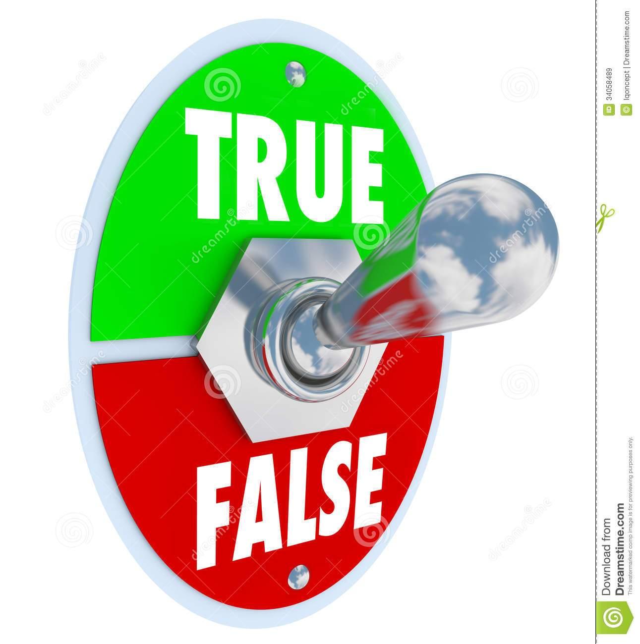 True false clipart 9 » Clipart Portal.