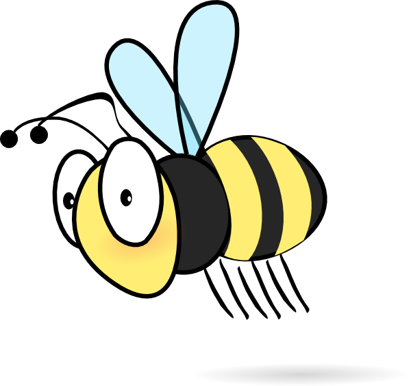 Pictures Of Cartoon Bees.