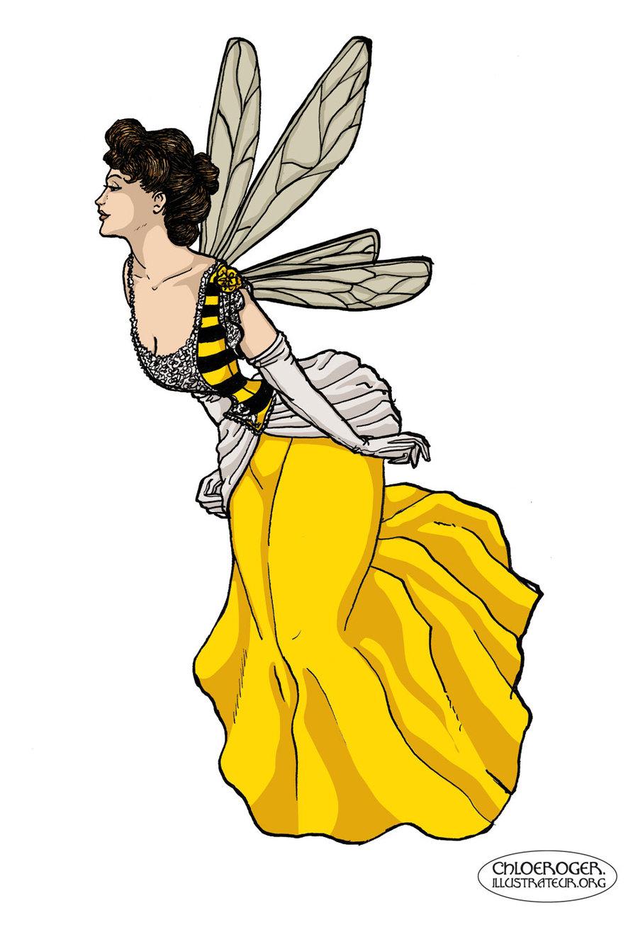 Wasp Waist by LaTaupinette.deviantart.com on @deviantART.