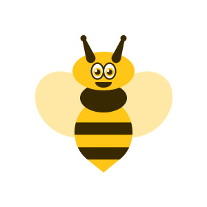 Wasp bee clipart #4
