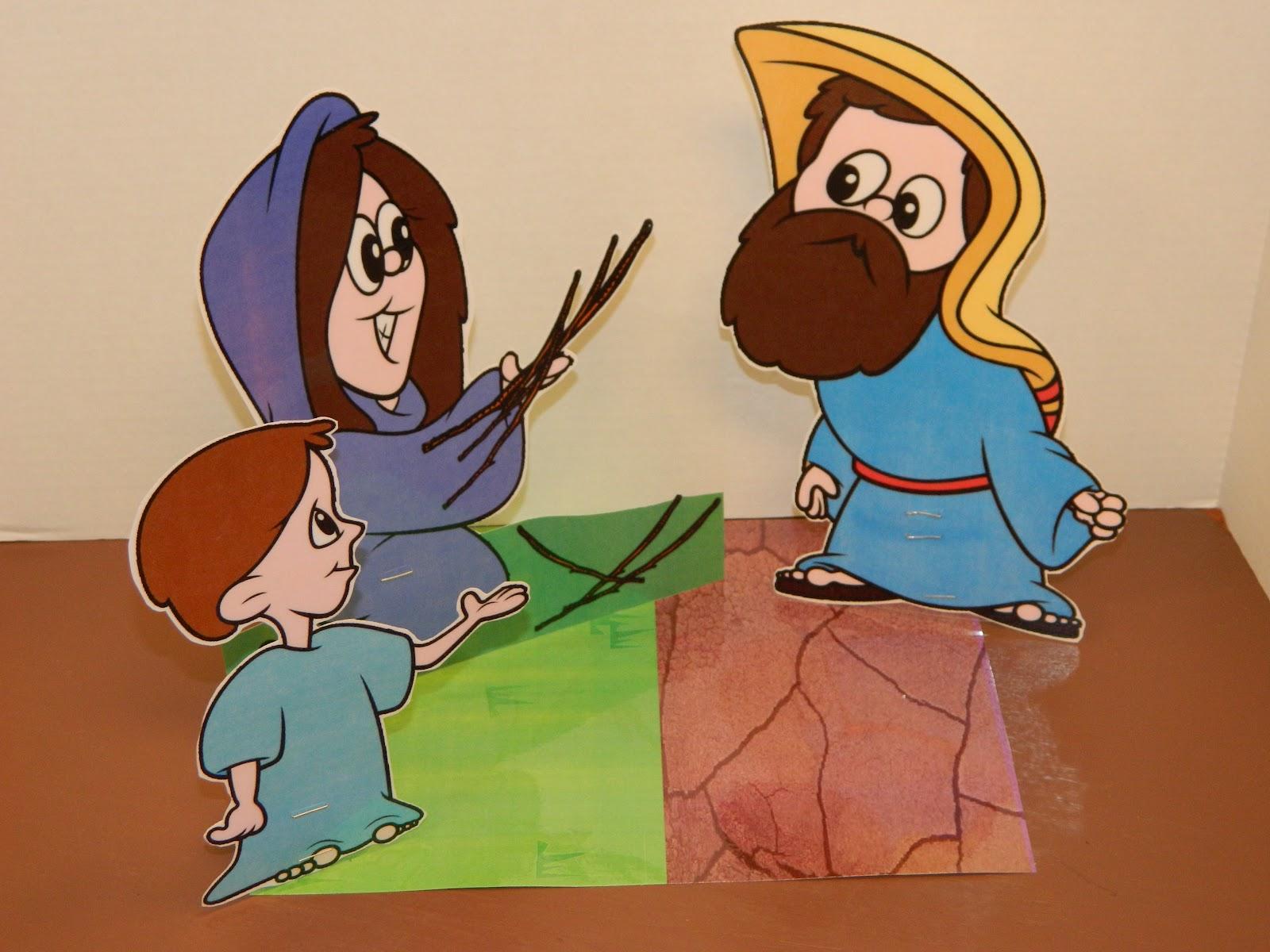 Hands On Bible Teacher: Elijah & The Widow of Zarephath.