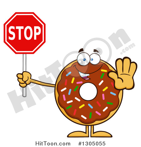 Donut Clipart #1.