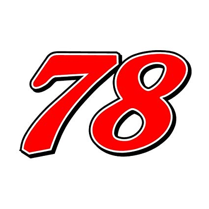78 Martin Truex Jr Racing CreativeStickers0010 Set Of Two (2x) Stickers ,  Laptop , Ipad , Car , Truck , Size 4 inches on Longer Side.