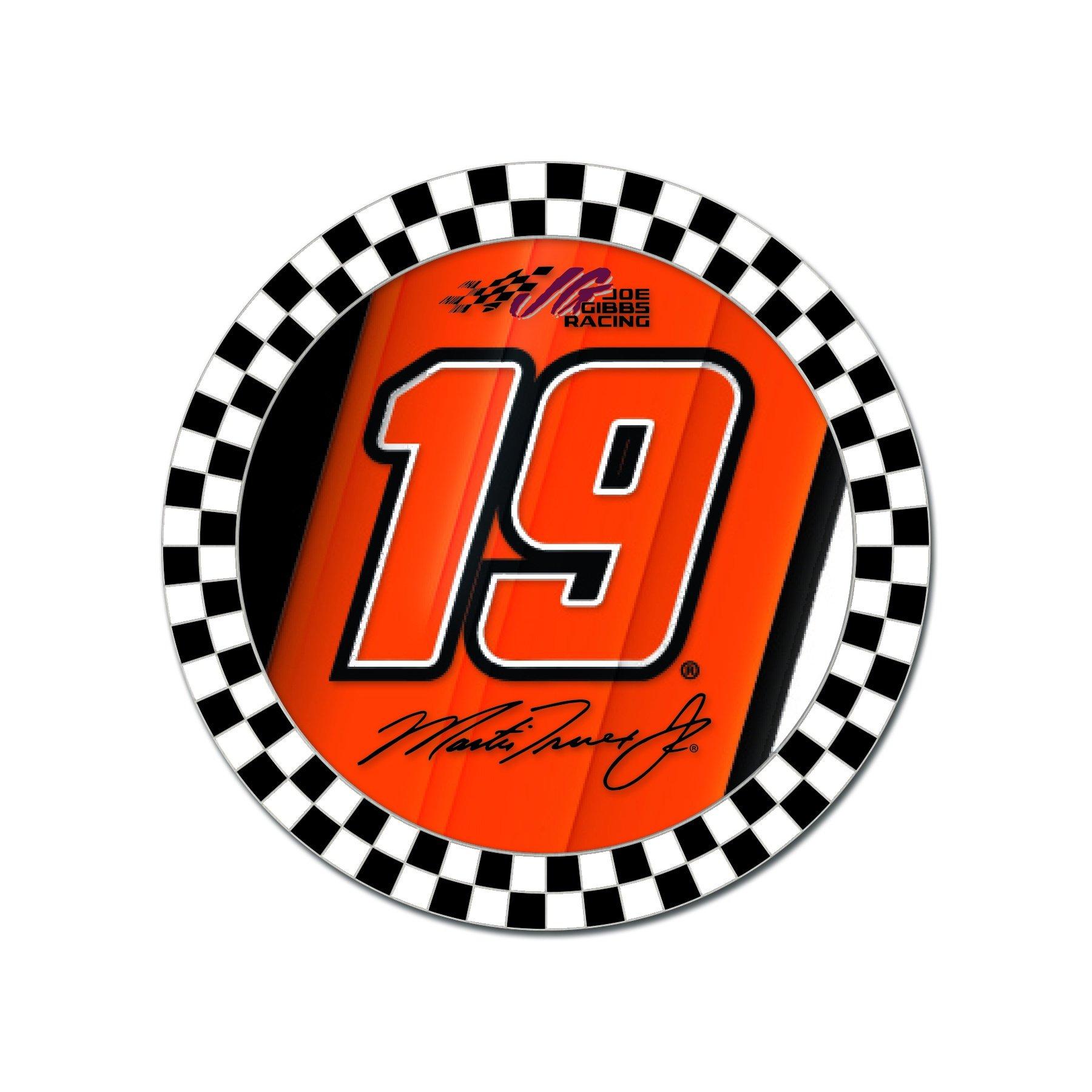 Martin Truex Jr. Round 19 Collector Pin.