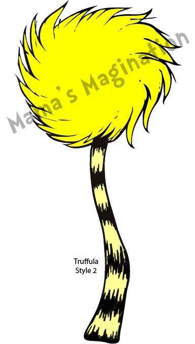 Truffula Tree Drawing.