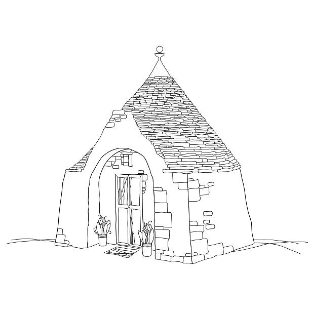 Trulli House Clip Art, Vector Images & Illustrations.