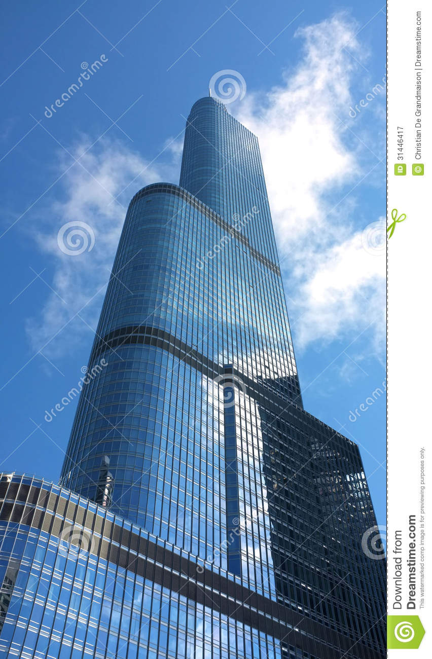 Trump Tower Royalty Free Stock Photography.
