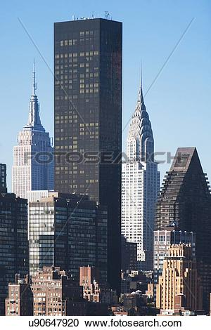 Stock Photography of View of Trump Tower u90647920.
