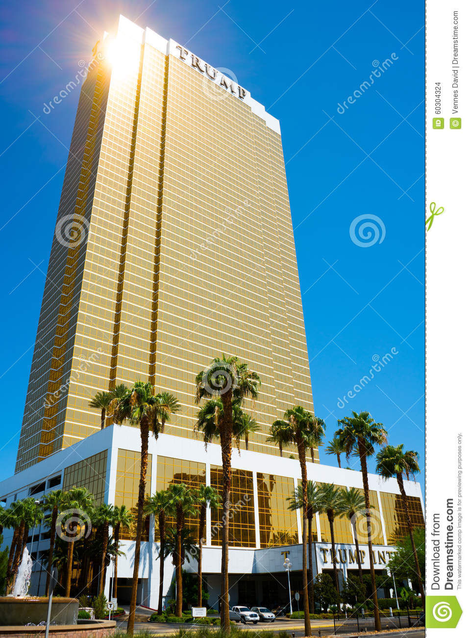 Trump International Hotel Las Vegas.
