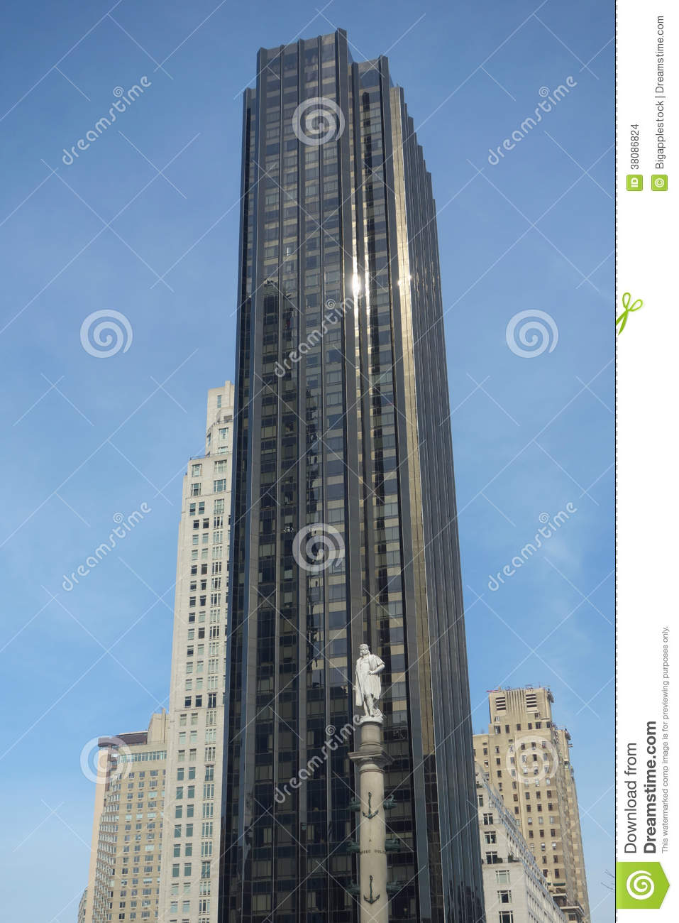Trump International Hotel And Tower Editorial Stock Image.