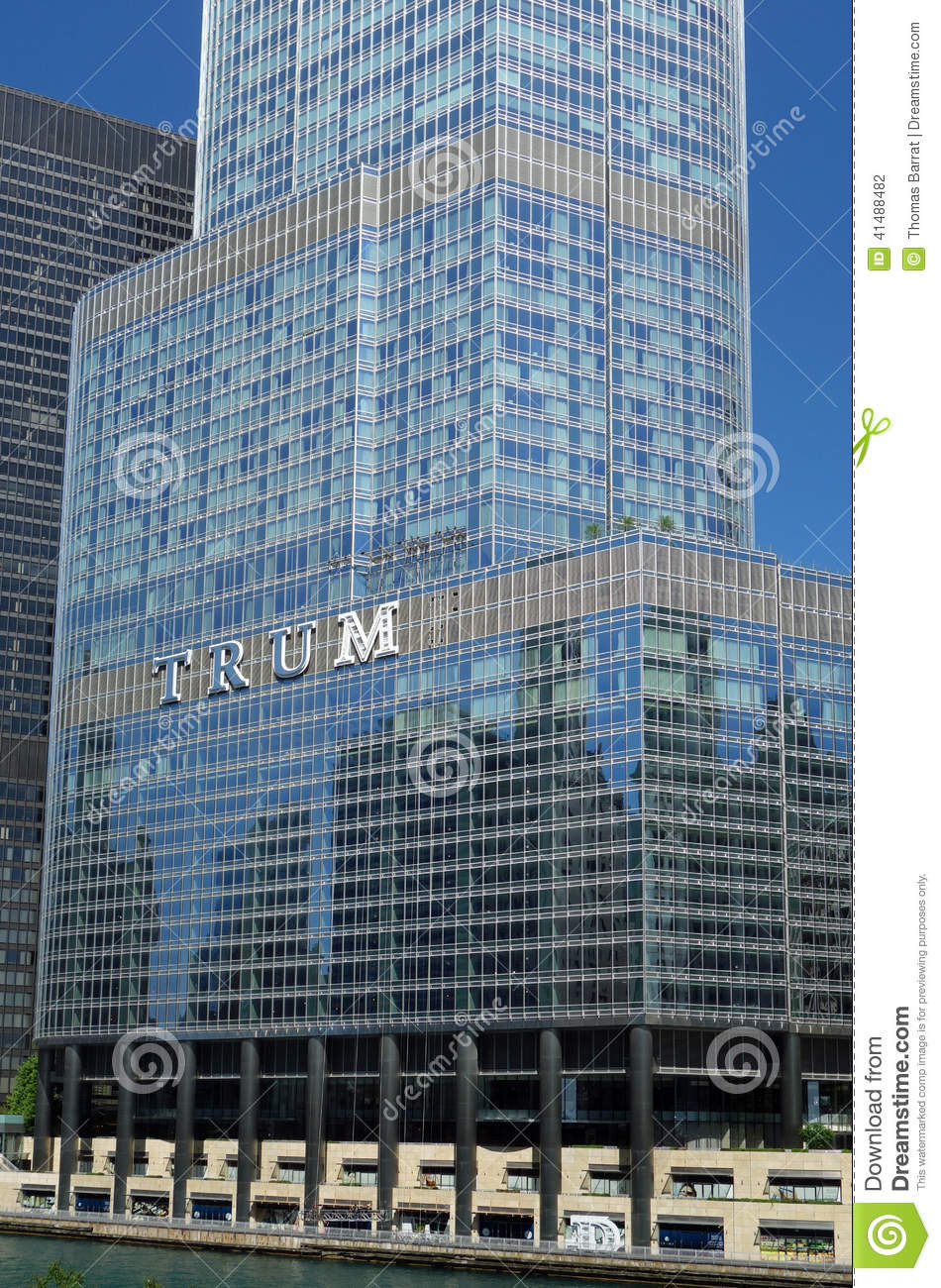 Trump International Hotel And Tower Editorial Photography.