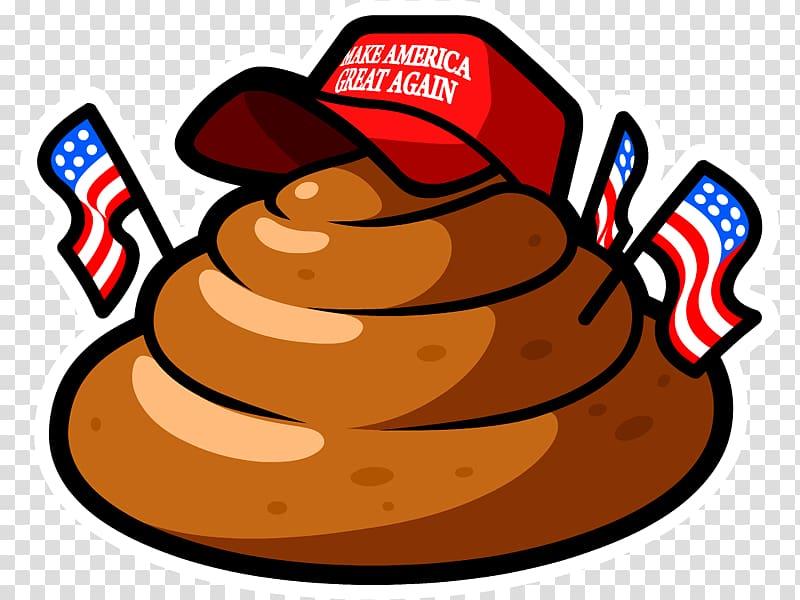 United States Art Logo, trump dabbing transparent background.