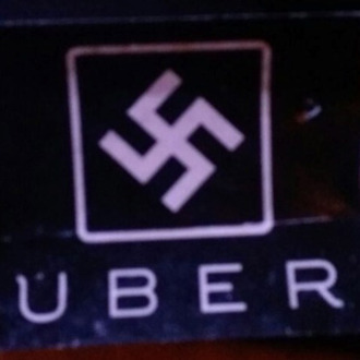 Uber Logo Paired With Swastika in Potential Hate Crime.