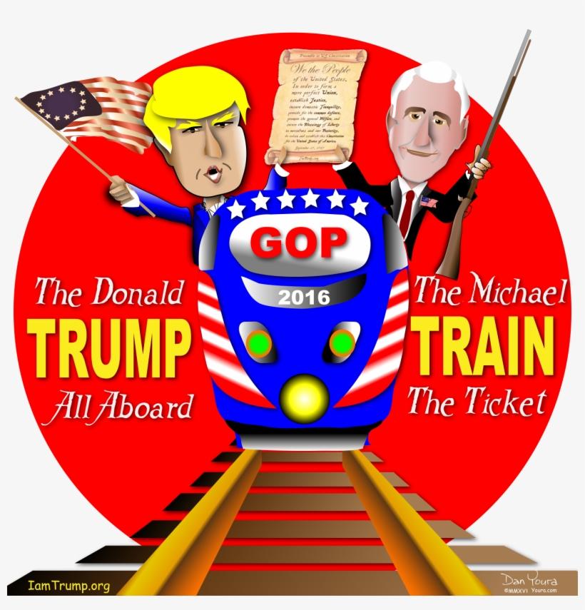 Trump Clipart Train Trump.