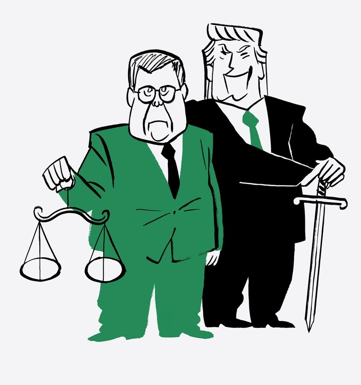 Trump, Barr, and the Rule of Law.