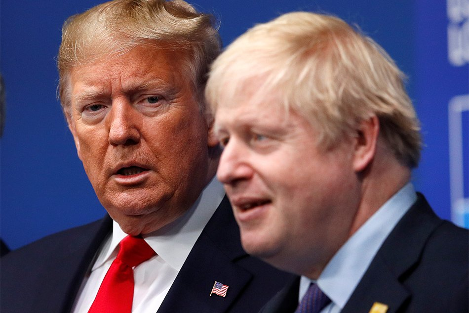 Trump invites Britain\'s Johnson to White House in new year.