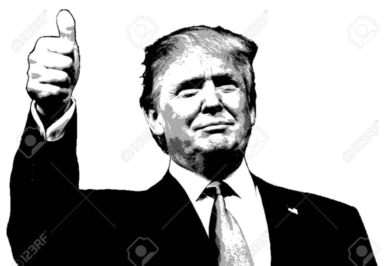 1206 Trump free clipart.