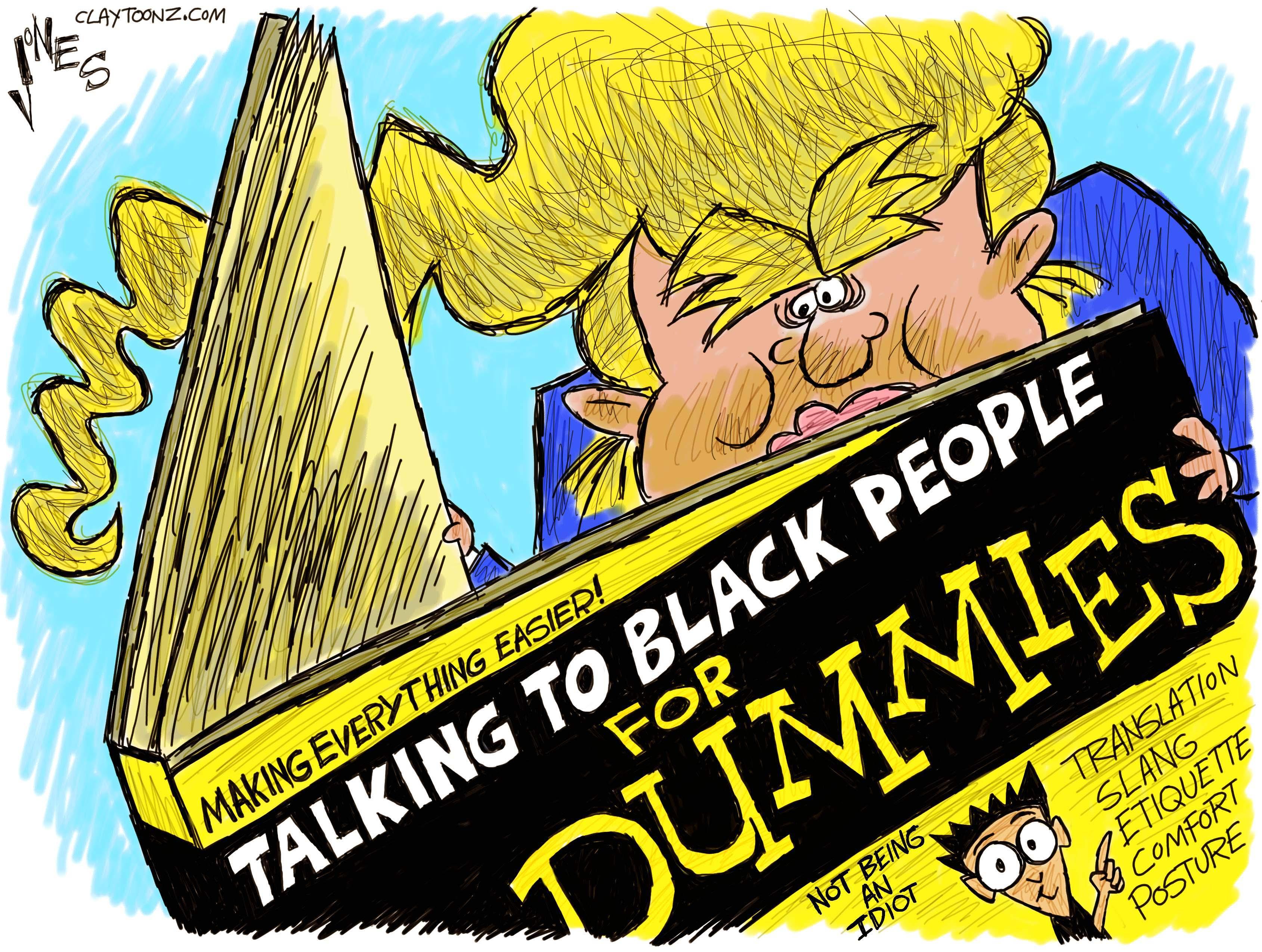 Trump Talks Black.