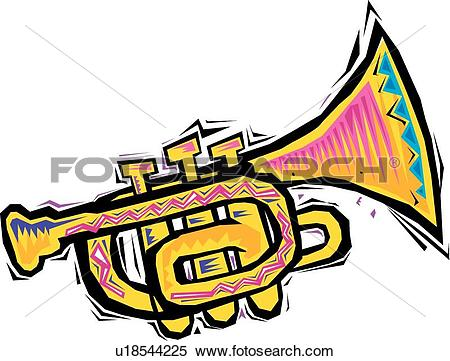 Trumpet Clipart Illustrations. 6,696 trumpet clip art vector EPS.