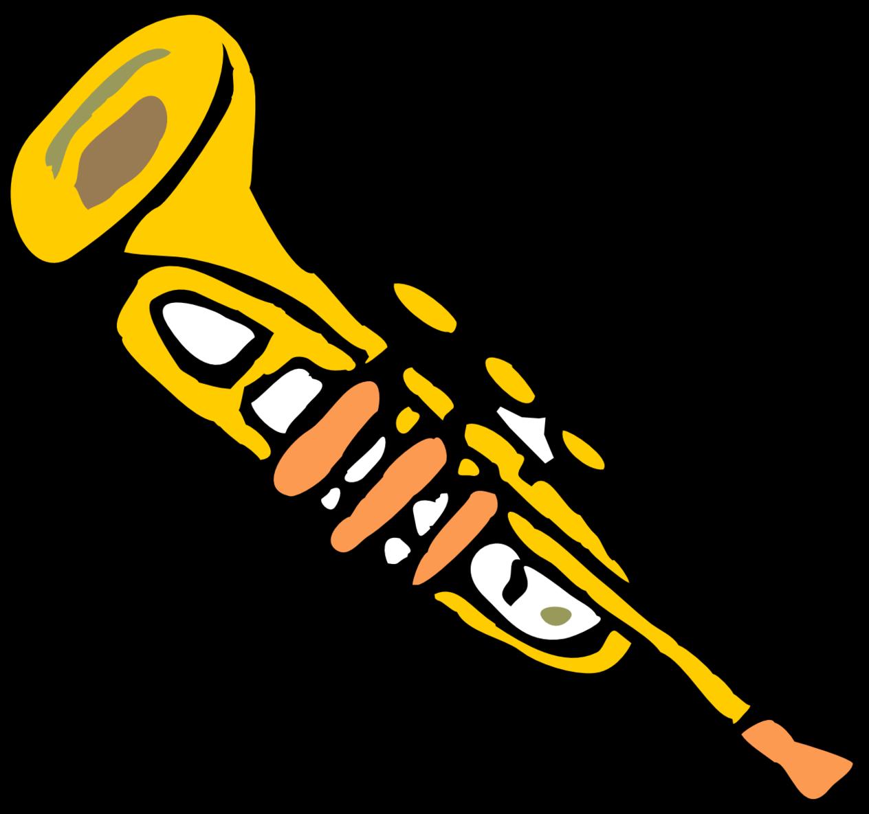 Trumpet Clipart Free Clip art of Trumpet Clipart #6492 — Clipartwork.