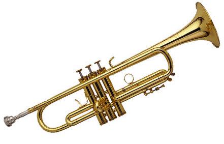 Trumpet clip art free clipart images 4.