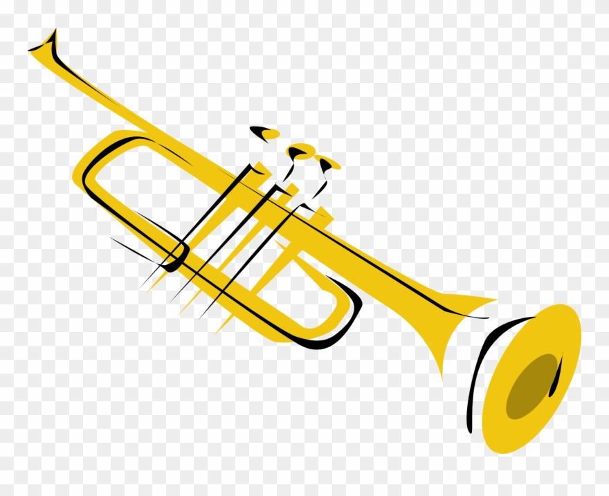 Trumpet Clip Art.