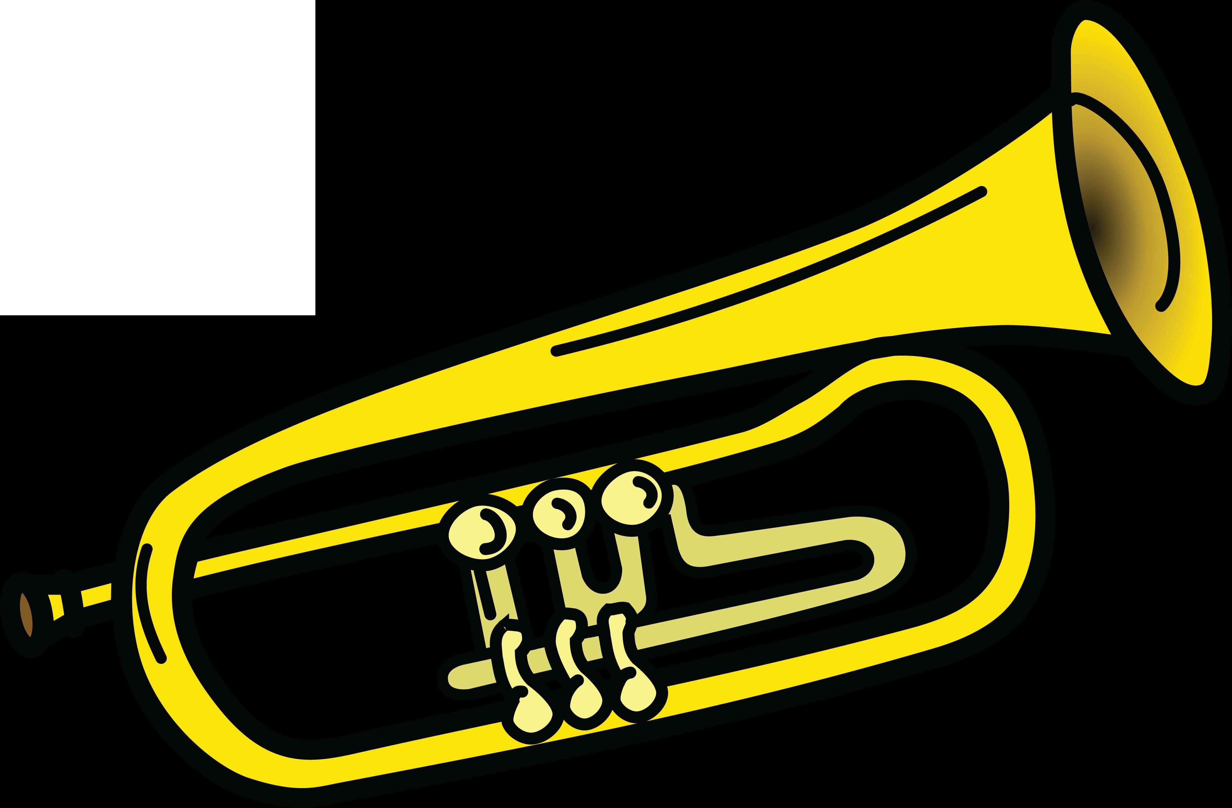 Trumpet Clip Art Free, Trumpet Transparent PNG Images.