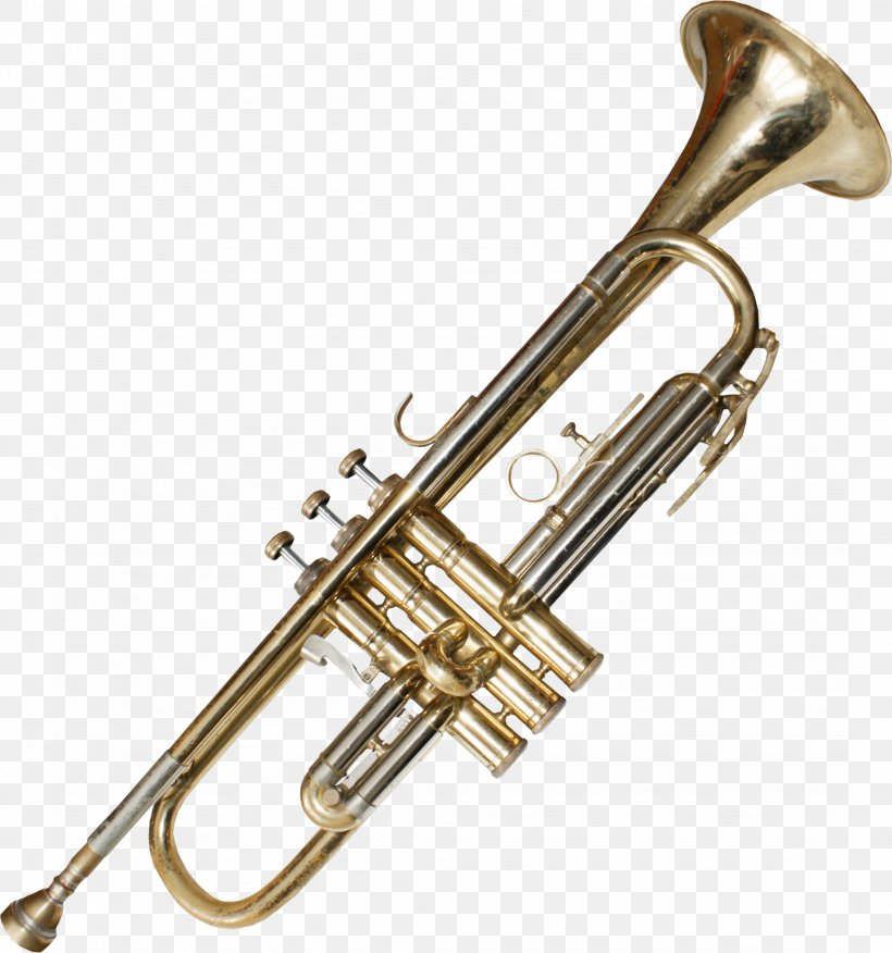 Trumpet Musical Instrument Clip Art, PNG, 2151x2300px.