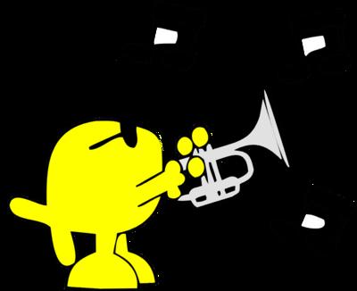 Image download: Playing Trumpet.
