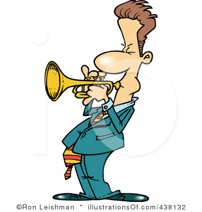 Trumpeter Clipart.
