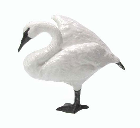 Standing Trumpeter Swans Clip Art, free standing prefab houses for.