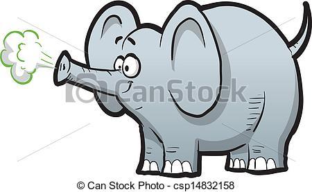 Elephant trumpet clipart.