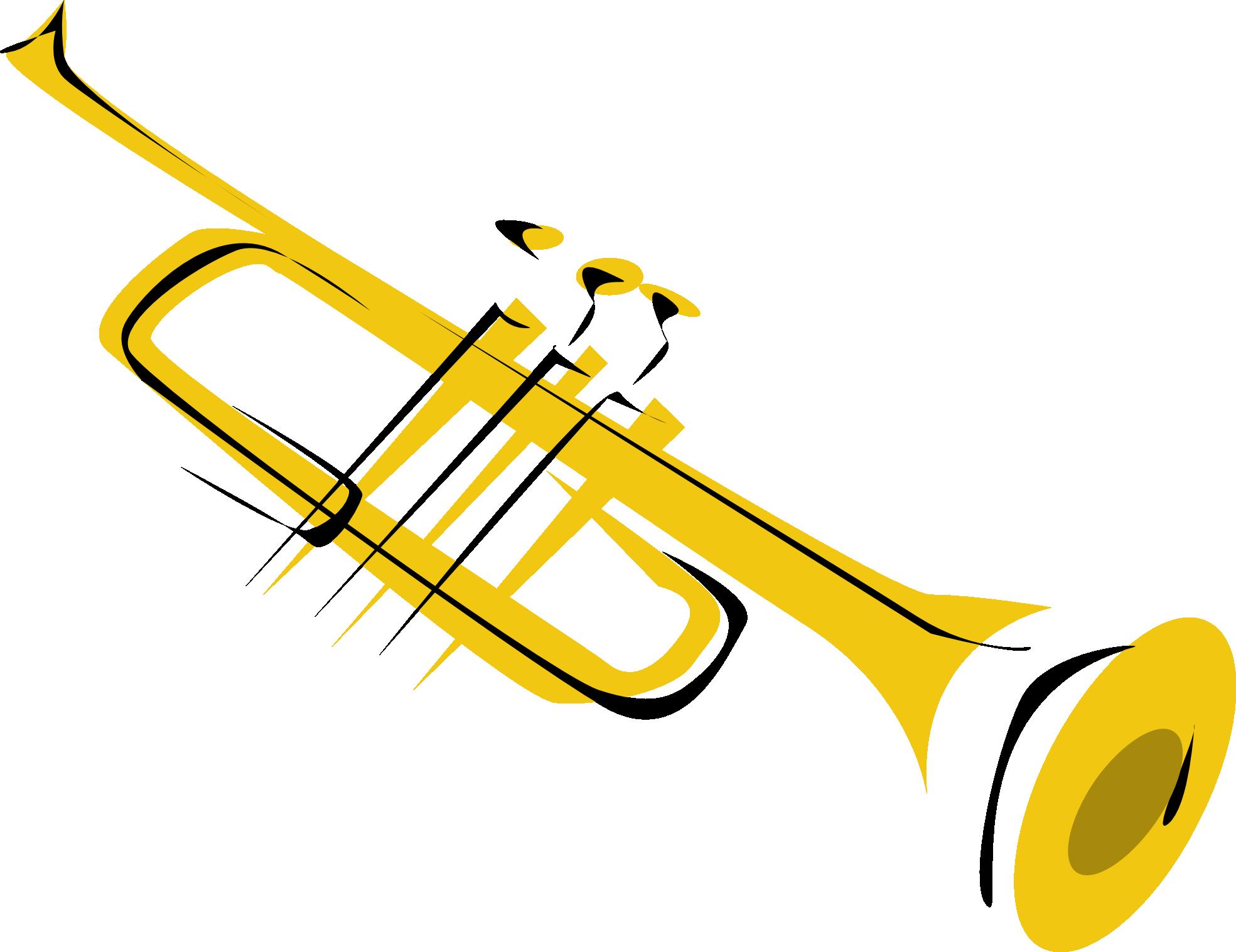 Trumpet Clip Art Free.