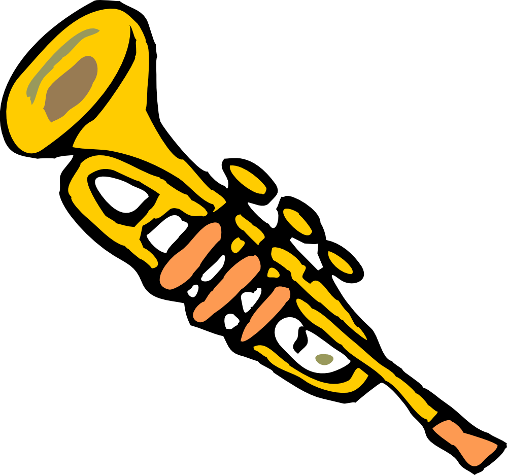 Student trumpet trumpets icon icons etc clipart image #37324.
