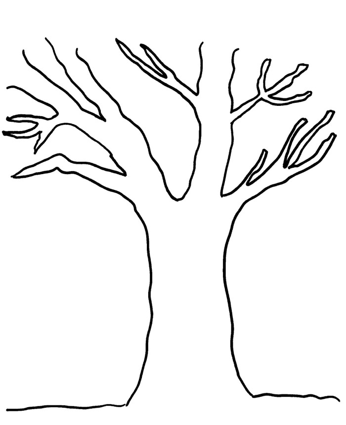 Free Tree Trunk Clipart Black And White, Download Free Clip.