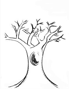 Trunk clipart black and white.