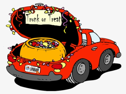 Free Trunk Or Treat Clip Art with No Background.