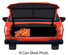 Car trunk clipart 1 » Clipart Station.