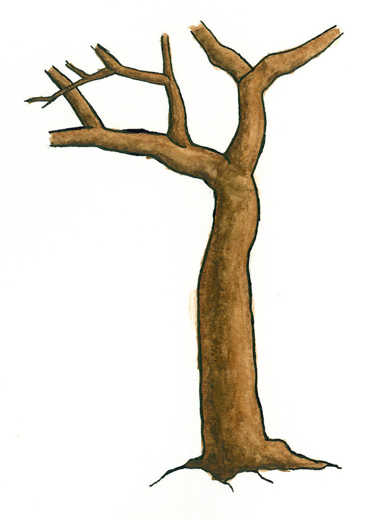 Trunk of a tree clipart 1 » Clipart Station.