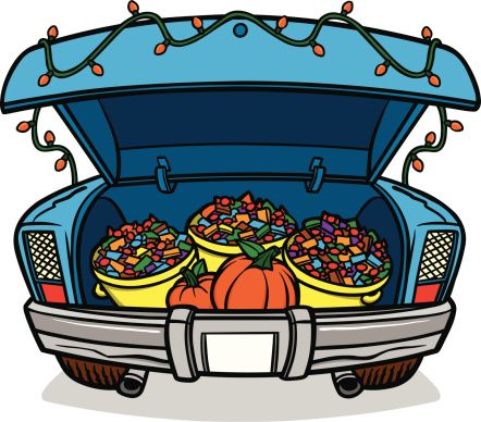 Trunk or treat trunk of a car clipart clipartfest in 2019.
