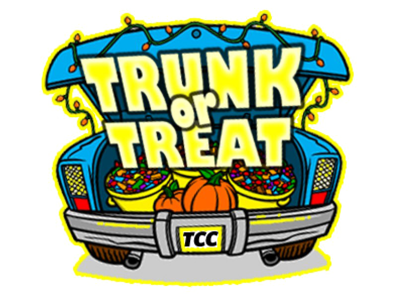 Halloween Trick Or Treat PNG Image.
